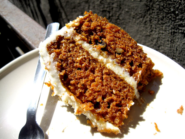 Carrot Cake with Cream Cheese Frosting – Want Dessert