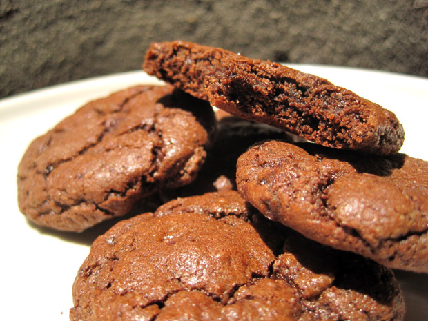 Small Batch Chewy Chocolate Crackle Cookies | Want Dessert